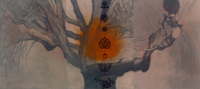 Shelley Thorstensen, Hanging Fire, Printmakers Open Forum