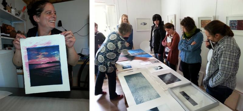 Print the Midnight Sun Printmakers Open Forum