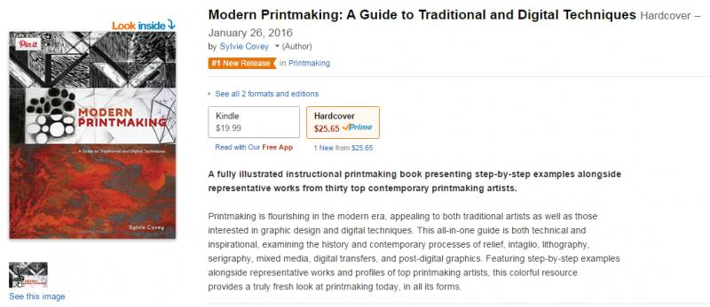 Modern Printmaking Amazon Shelley Thorstensen