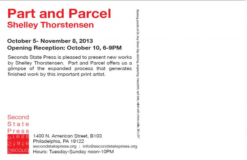 Part and Parcel by Shelley Thorstensen an expanded view of On Any Given Day
