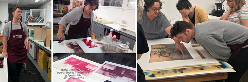 PrintCamp2018 Printmakers Open Forum