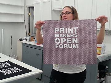Printmakers Open Forum Mission Statement