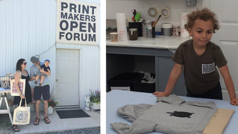 printmakers open forum
